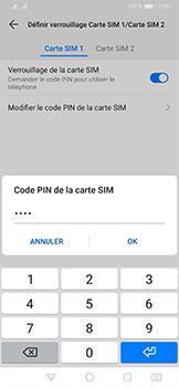 Huawei P30 Pro - Sécurité - modifier SIM PIN - Étape 10