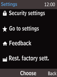 Nokia 216 - Device maintenance - How to do a factory reset - Step 5