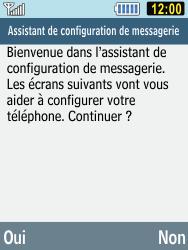 Samsung C3590 - E-mails - Ajouter ou modifier un compte e-mail - Étape 8