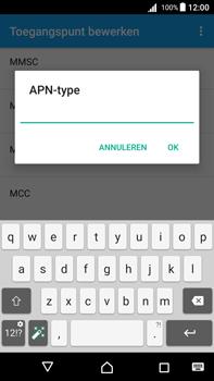 Sony Xperia Z5 Premium - Android Nougat - Internet - handmatig instellen - Stap 15