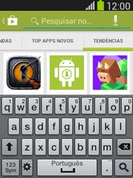Samsung S5310B Galaxy Pocket Neo - Aplicativos - Como baixar aplicativos - Etapa 14