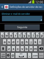 Samsung Galaxy Pocket Neo - Email - Configurar a conta de Email -  12
