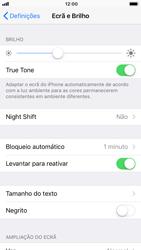 Apple iPhone 8 - Segurança - Bloqueio automático do ecrã -  6