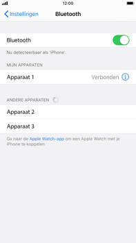 Apple iPhone 6s Plus - iOS 13 - Bluetooth - koppelen met ander apparaat - Stap 8