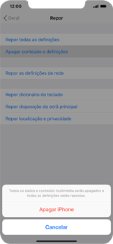 Apple iPhone XR - Repor definições - Como repor definições de fábrica do telemóvel -  7