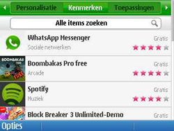 Nokia E5-00 - Applicaties - Applicaties downloaden - Stap 4