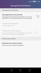 Huawei Honor 5X - Device maintenance - Back up - Étape 7