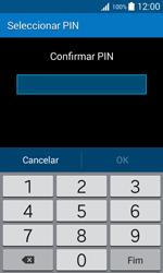 Samsung Galaxy Trend 2 Lite - Segurança - Como ativar o código de bloqueio do ecrã -  9