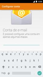 Motorola Moto Turbo - Email - Como configurar seu celular para receber e enviar e-mails - Etapa 6