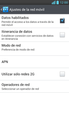 LG Optimus L9 - Internet - Configurar Internet - Paso 8