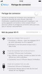 Apple iPhone 7 iOS 11 - Internet et connexion - Partager votre connexion en Wi-Fi - Étape 5