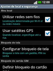 LG E400 - Segurança - Como ativar o código de bloqueio do ecrã -  11