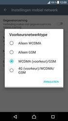 Sony Xperia XZ (F8331) - Netwerk - Wijzig netwerkmodus - Stap 7