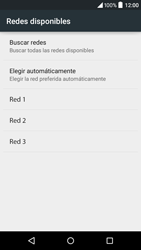 Alcatel Idol 3 - Red - Seleccionar una red - Paso 8