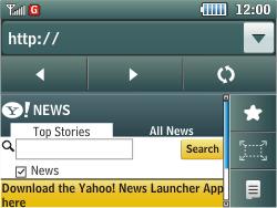Samsung C3500 Chat 350 - Internet - Internet browsing - Step 13