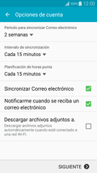 Samsung Galaxy A3 - E-mail - Configurar Yahoo! - Paso 7