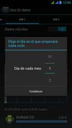 BQ Aquaris 5 HD - Internet - Ver uso de datos - Paso 8