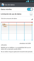 LG Optimus L9 - Internet - Ver uso de datos - Paso 8
