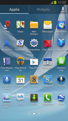 Samsung Galaxy Note 2 - Contact, Appels, SMS/MMS - Envoyer un SMS - Étape 3