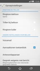 Sony D6503 Xperia Z2 - Voicemail - handmatig instellen - Stap 5