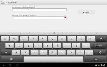 Sony SGP321 Xperia Tablet Z LTE - E-mail - e-mail instellen: IMAP (aanbevolen) - Stap 18