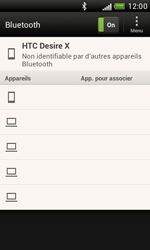 HTC T328e Desire X - Bluetooth - Jumeler avec un appareil - Étape 7