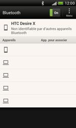 HTC T328e Desire X - Bluetooth - connexion Bluetooth - Étape 9