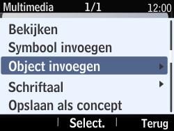 Nokia Asha 210 - MMS - Afbeeldingen verzenden - Stap 13