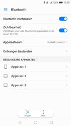 Huawei Nova 2 - WiFi en Bluetooth - Bluetooth koppelen - Stap 6