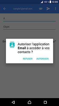 Sony Xperia XA1 Ultra - E-mails - Envoyer un e-mail - Étape 5