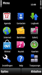Nokia X6-00 - E-mail - Handmatig instellen - Stap 4