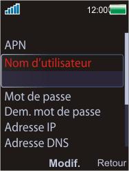 Sony Ericsson W595 - Internet - Configuration manuelle - Étape 12