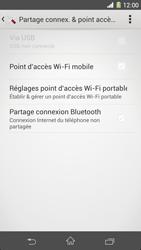 Sony Xpéria Z1 - Internet et connexion - Partager votre connexion en Wi-Fi - Étape 6