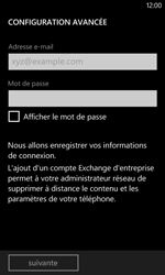 Nokia Lumia 625 - E-mail - Configurer l