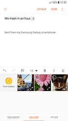 Samsung A320F Galaxy A3 (2017) - Android Nougat - E-mail - Sending emails - Step 12