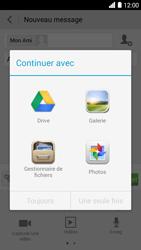 Bouygues Telecom Ultym 5 - Contact, Appels, SMS/MMS - Envoyer un MMS - Étape 13