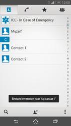 Sony Xperia Z3 4G (D6603) - Contacten en data - Contacten overzetten via Bluetooth - Stap 12