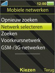 Sony Ericsson W995 - Buitenland - Bellen, sms en internet - Stap 5