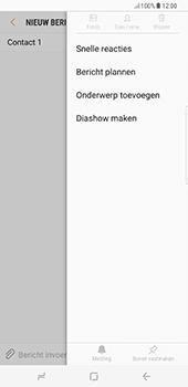 Samsung Galaxy S8 Plus - MMS - afbeeldingen verzenden - Stap 8