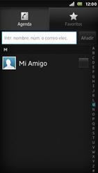 Sony Xperia U - Mensajería - Escribir y enviar un mensaje multimedia - Paso 6