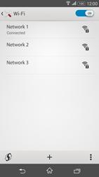 Sony E2003 Xperia E4 G - WiFi and Bluetooth - Manual configuration - Step 8