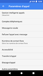 Sony Xperia X Compact - Android Oreo - Messagerie vocale - configuration manuelle - Étape 8