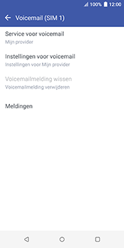 HTC u12-plus-2q55200 - Voicemail - Handmatig instellen - Stap 9