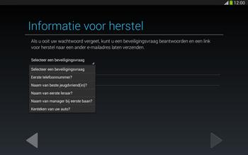 Samsung P5220 Galaxy Tab 3 10-1 LTE - Applicaties - Account aanmaken - Stap 13