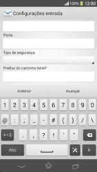 Sony C5303 Xperia SP - Email - Como configurar seu celular para receber e enviar e-mails - Etapa 10