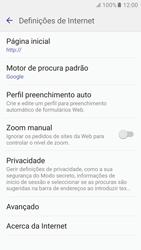 Samsung Galaxy S6 Android M - Internet no telemóvel - Configurar ligação à internet -  26