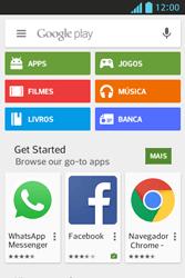 LG E612 Optimus L5 - Aplicativos - Como baixar aplicativos - Etapa 4