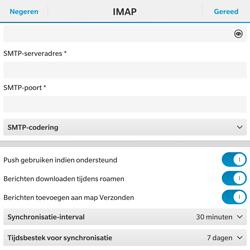 BlackBerry Passport - E-mail - Handmatig instellen - Stap 15