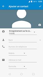 Wiko WIM Lite - Contact, Appels, SMS/MMS - Ajouter un contact - Étape 9
