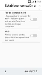 LG K4 (2017) - Primeros pasos - Activar el equipo - Paso 7